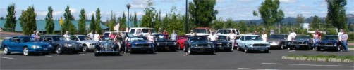 The MCA welcomes new Mt Hood Mustang and Fords club to the MCA!