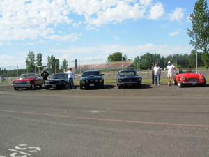 Ryan,  Randy,Gary's 2 Mustangs & Jerry's Toy